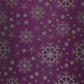 Snowflake pattern against pink vignette — Stock Photo