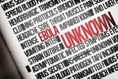 Digitally generated ebola word cluster — Stock fotografie