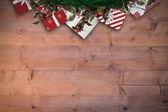 Festive christmas wreath — Stock Photo