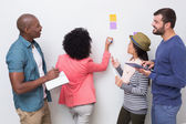 Creative business team in meeting — Stock Photo