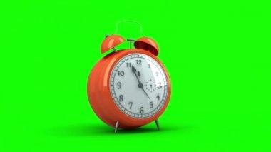Alarm clock ringing — Stock Video