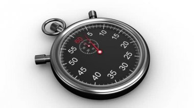 Stopwatch timing — Stock Video
