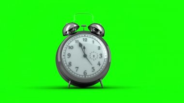 Alarm clock ringing — Stock Video