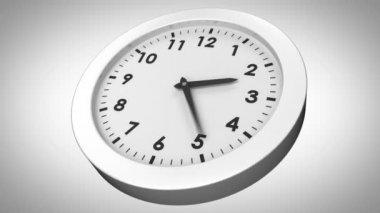 Clock ticking — Stock Video