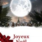 Composite image of joyeux noel — Stock Photo #62470531