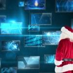 Santa looks away from the camera — Stock Photo #62472623