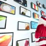 Santa looks away from camera — Stock Photo #62473011