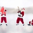 Composite image of different santas — Stock Photo #62474903