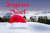 Composite image of joyeux noel — 图库照片
