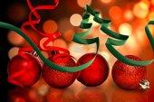 Ribbon in Form der Weihnachtsbaum — Stockfoto