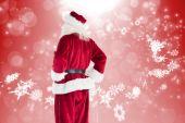 Santa looks away from the camera — Photo