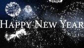 Composite image of happy new year — Stockfoto