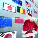 Santa looks away from camera — Stock Photo #62482869