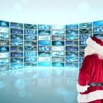 Santa looks away from camera — Stock Photo #62484891