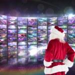 Santa looks away from the camera — Stock Photo #62487065