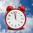 Composite image of 2015 in red alarm clock — Stock Photo #62488891