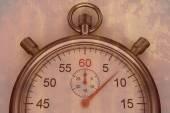 Composite image of stopwatch — Stock Photo
