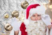 Composite image of santa — Foto de Stock