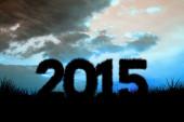Composite image of 2015 — Stock Photo