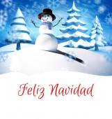 Composite image of feliz navidad — Stock Photo