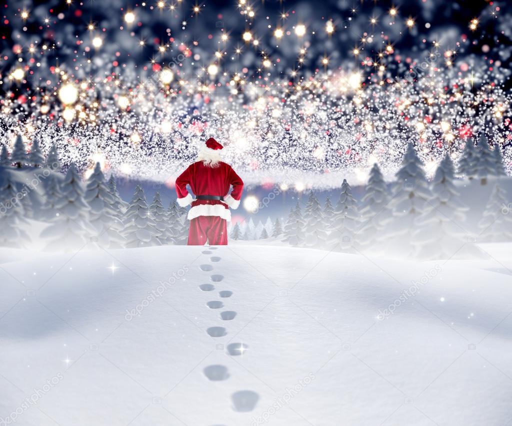Where does Santa Claus live