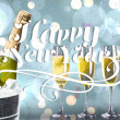 Elegant happy new year messege — Stock Photo #62494115
