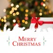 Christmas greeting card — Stock Photo #62499159