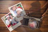 Samengestelde afbeelding van Kerstmis herinneringen — Stockfoto