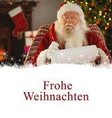 Santa claus writing his list — Stock Photo