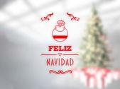 Feliz navidad banner — Photo