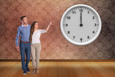 Full length of couple looking away — Stock Photo