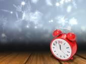 2015 in red alarm clock — Stock Photo