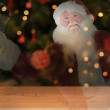 Santa claus rings his bell — Stock Photo #62500717