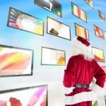 Santa looks away from camera — Stock Photo #62503477