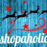 Papai Noel e renas contra padrão de floco de neve — Fotografia Stock  #62503773