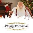Happy santa without his jacket — Stock Photo #62506095