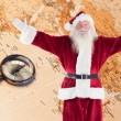 Jolly Santa opens his arms — Stock Photo #62506953