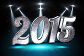 Composite image of sparkly 2015 — Stock Photo