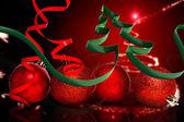 La cinta en forma de árbol de navidad — Foto de Stock