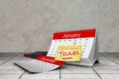 Composite image of new years resolutions — Stockfoto