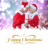 Young festive couple — Stockfoto