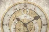 Composite image of beautiful clock — Stock Photo