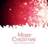 Merry christmas against light design — Stock Photo