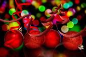 Del nastro a forma di albero di Natale — Foto Stock