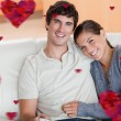 Happy couple enjoying their time together — Stock Photo #64821299