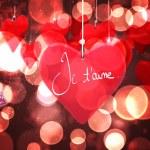 Composite image of valentines love hearts — Stock Photo #65234811