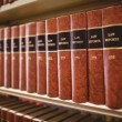 Close up of a lot of law reports — Stock Photo #65282191