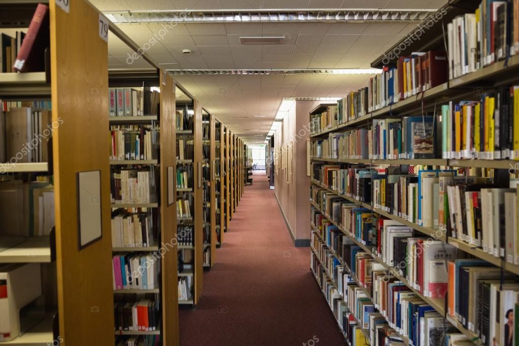 Birimleri kitap kutuphane icinde bookshelf - stok foto waveb.