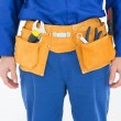 Repairman wearing tool belt — Stock Photo #65555145