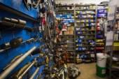 完整的存储室 — 图库照片